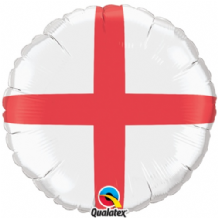 "St.Georges Cross Foil Balloon (18"") 1pc"